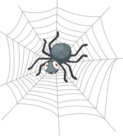 spidery: Cartoon spider