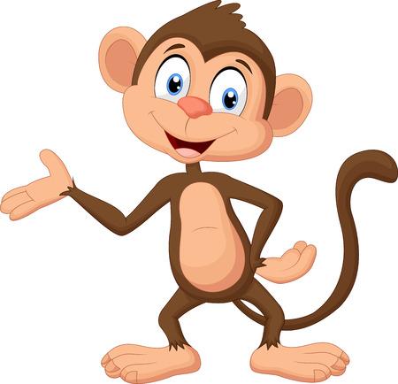 만화 원숭이 제시