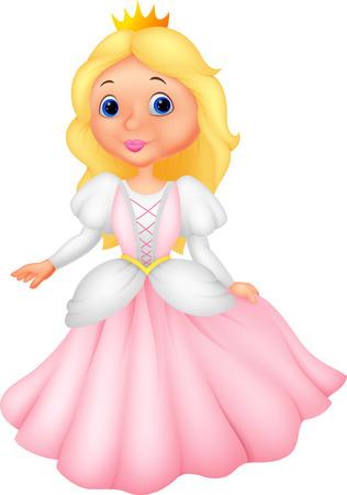 beautiful cinderella: Cute princess cartoon