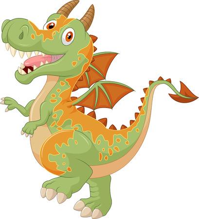 cartoon dragon: Cartoon dragon