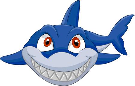 Cartoon rekina Ilustracje wektorowe