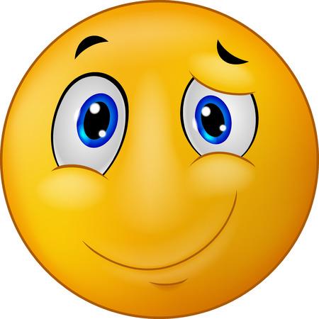 smiley icon: Happy emoticon smile cartoon Illustration