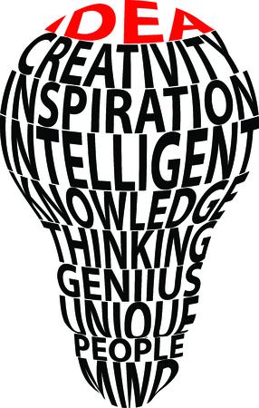 brainy: Cartoon Bulbs ideas illustration