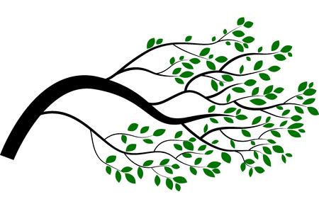 bareness: Cartoon tree branch