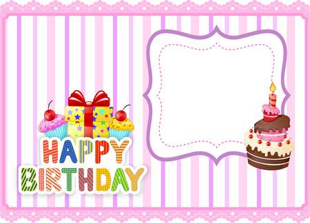 birthday presents: Cartoon Birthday card