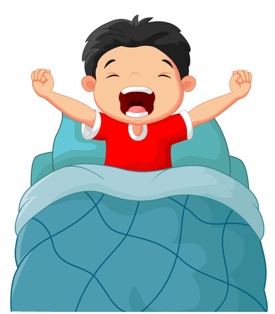 7 655 wake up in the morning stock illustrations cliparts and rh 123rf com boy waking up clip art wake up late clipart