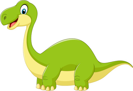 cute dinosaur: Cartoon cute dinosaur Illustration