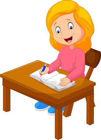l'écriture de texte de bande dessinée dans le livre Vecteurs