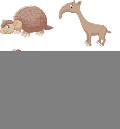 anteater: Cartoon animal collection set