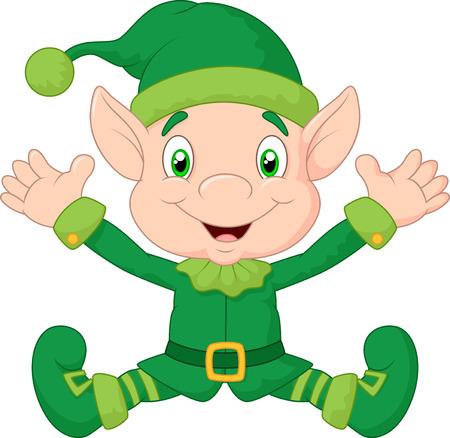 dwarves: Cute gnome cartoon