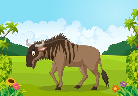cartoon tier: Cartoon Tier Gnu