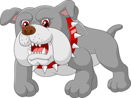beware of dog: Cartoon guard dog house