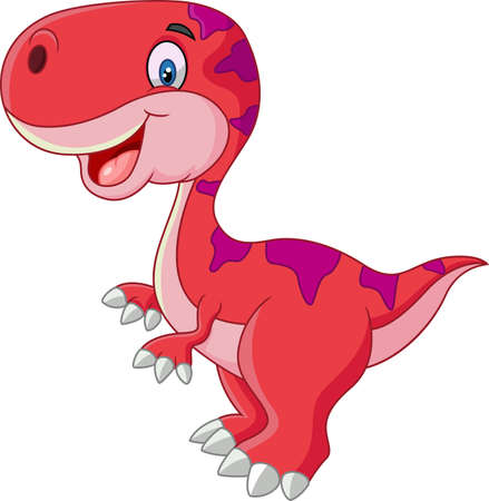 baby animal: Cute dinosaur cartoon