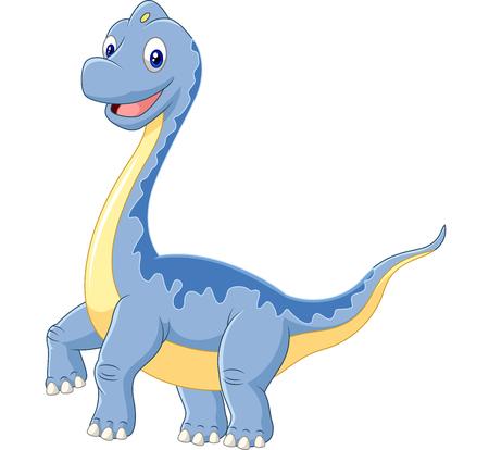 cute dinosaur: Historieta linda del dinosaurio