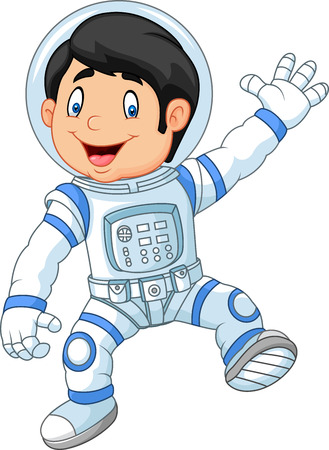 1,342 Astronaut Kid Stock Vector Illustration And Royalty Free ...