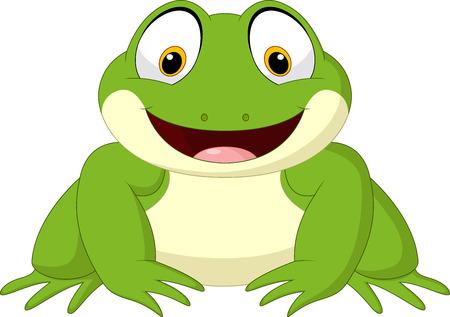 Illustration of Cartoon frog. Stock Vector - 85807350