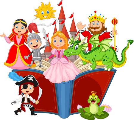 Wyobraźnia w bajkowej książce dla dzieci