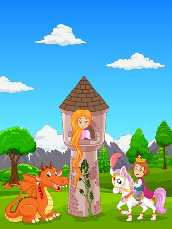 Rapunzel Tower Stock Illustrations Cliparts And Royalty Free Rapunzel Tower Vectors