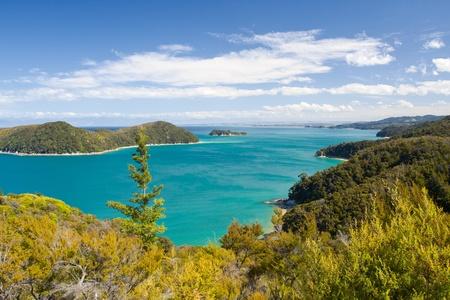 tasman: Beautiful New Zealand Landscape. Abel Tasman National Park, South Island.