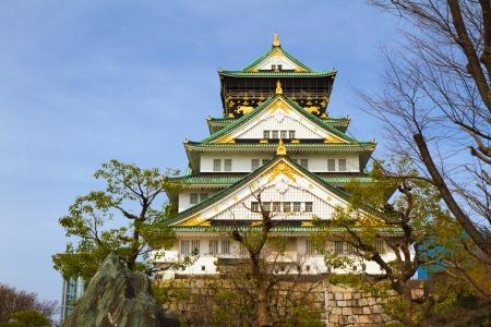 osakajo: Osaka Castle, Japan