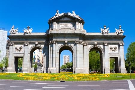 neo classical: Puerta de Alcala, Madrid, Spain Editorial