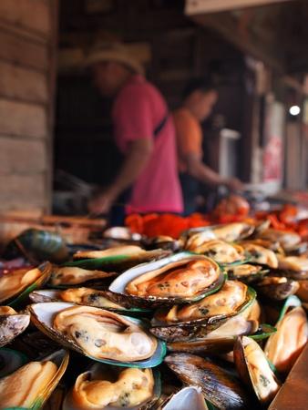 amphawa: Seafoods at Amphawa Thailand