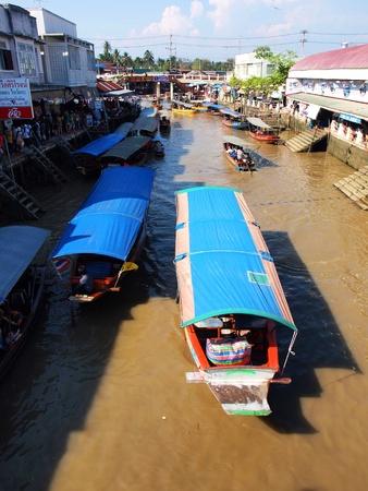 amphawa: Canal market Amphawa Thailand