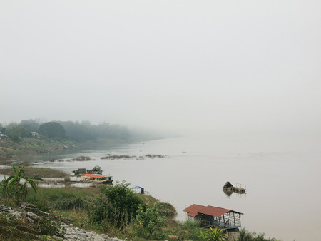 annals: The life of Mekong riverside in the fog