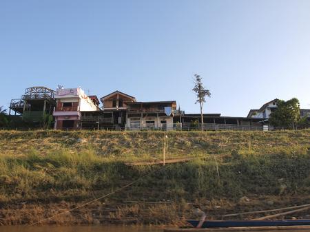 mekong: The Mekong riverside village