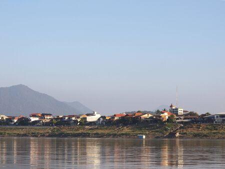 riverside: The Mekong riverside village