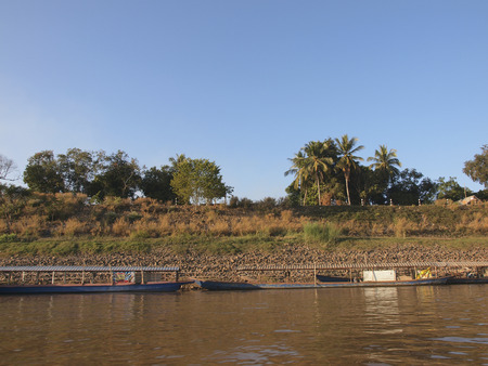 boundary: The Mekong river life, The nature boundary of Thailand-Laos