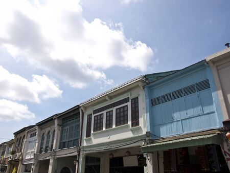 blowhole: the Sino-Portuguese shophouse in Phuket, Thailand