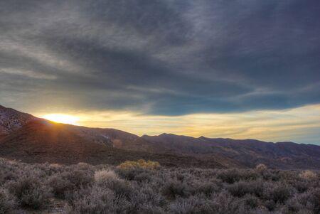 desolate: Desolate Sun Stock Photo