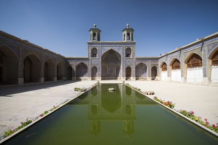 fars: Nasir al-Molk Mosque in Shiraz, south Iran