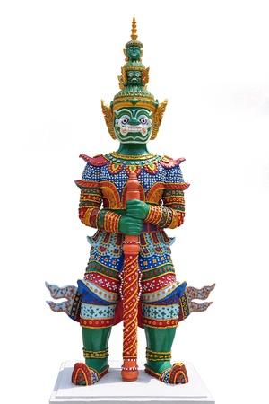 tempels: Thaise stijl standbeeld