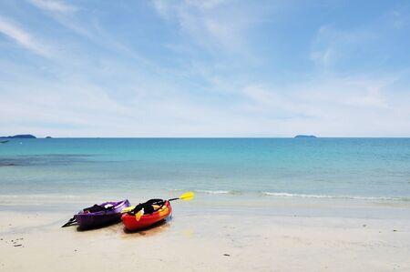 On the beach Standard-Bild