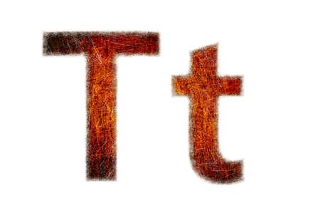 Text grunge textured photo