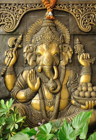head start: The Indian God Ganesha