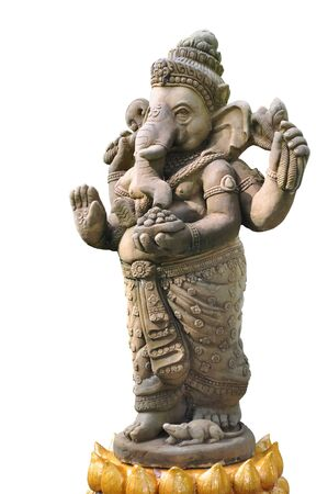 indian god: The Indian God Ganesha