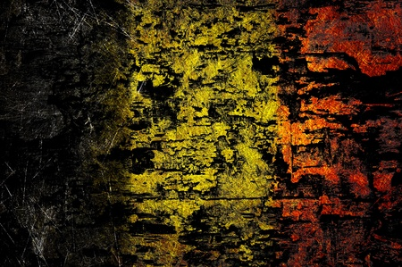 Grunge textured Belgiumflag photo