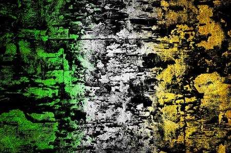 Grunge textured flag photo