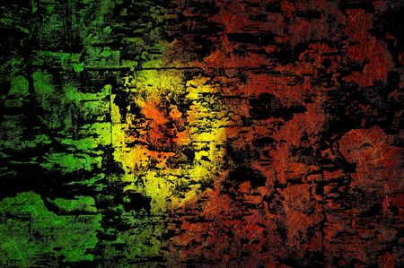 Grunge textured Portugal flag photo
