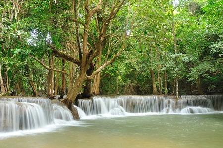 mea: Hui Mea Khamin Waterfall, Kanchanabury, Thailand