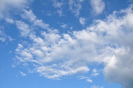 White clouds on blue sky Stock Photo - 11281816