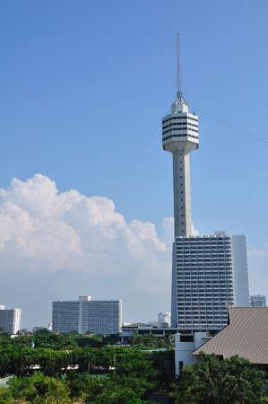 View of Pattaya City, Chonburi, Thailand