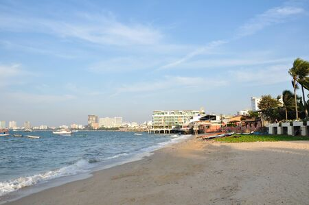 Sea in Pattaya city. Thailand photo