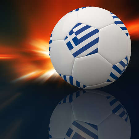 3d football Stock Photo - 12252420