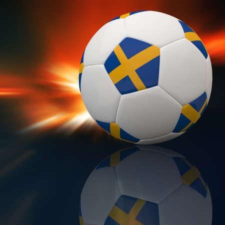3d football Stock Photo - 12252415