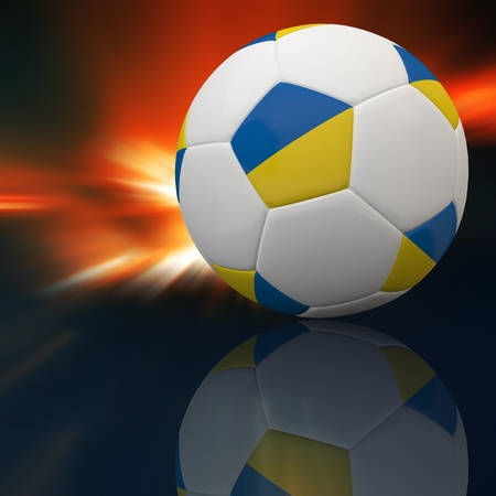 3d football Stock Photo - 12252414