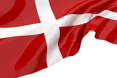 Vector Flags of Denmark photo